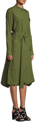J.W.Anderson Long-Sleeve Pocket Shirt Dress