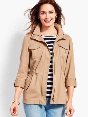 Talbots Casual Cotton Safari Jacket
