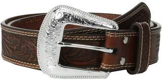 Nocona M&F Western Embossed Oval Concho Belt Men's Belts