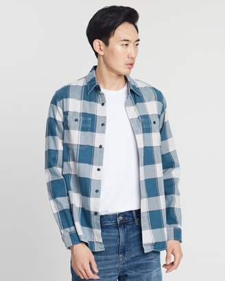 J.Crew Mid-Weight Flannel Paulie Plaid Check Shirt