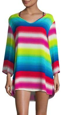 J Valdi Striped Long Sleeve Tunic