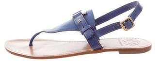 Tory Burch Slingback Thong Sandals