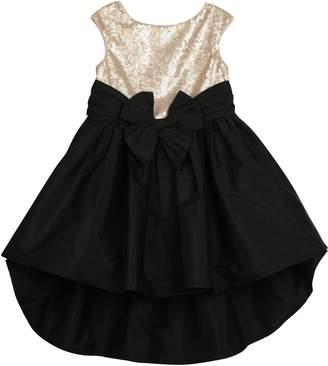 Pippa Pastourelle by & Julie Sequin Taffeta High/Low Dress