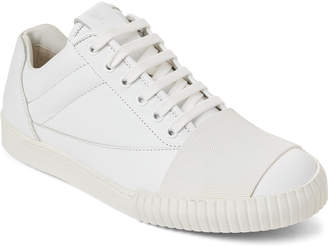 Marni White Leather Low-Top Sneakers