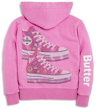 Butter Girls' Sneakers Hoodie - Little Kid $68 thestylecure.com