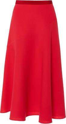DELPOZO A-Line Crepe Skirt