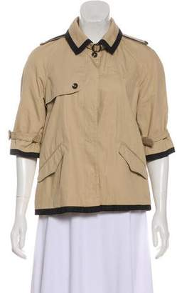 Rag & Bone Short Sleeve Trench Jacket
