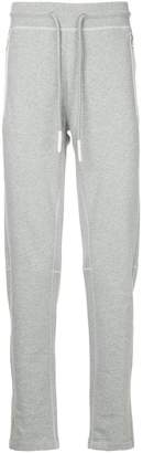 Moncler drawstring fitted trousers