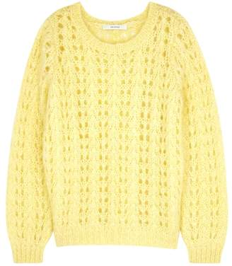 Gestuz Behar Open-knit Mohair-blend Jumper
