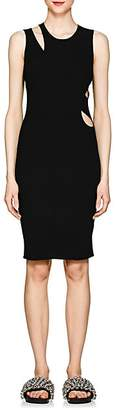 Helmut Lang Women's Cutout Compact Knit Tank Dress - Black