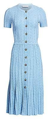 Altuzarra Women's Short-Sleeve Knit Dress