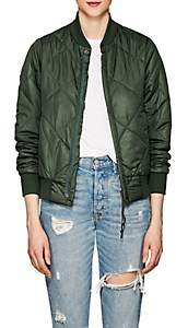 NSF Women's Neil Quilted Tech-Fabric Bomber Jacket - Olive