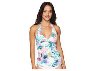 Tommy Bahama Fronds Ferdi Reversible Halter Tankini Women's Swimwear