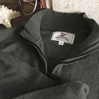 Madda Fella Bonfire Quarter Zip Sweater