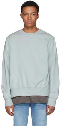 Ksubi Green Seeing Lines Crewneck Sweatshirt