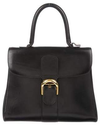 Delvaux Brilliant MM Box Calf Leather Bag
