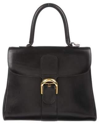 Delvaux Brilliant MM Box Calf Leather Bag