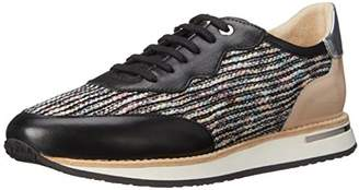 Aquatalia Women's Noreen Multi Fabric Combo Fashion Sneaker