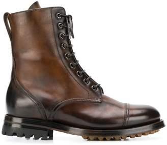 Silvano Sassetti military boots