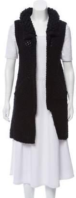Mayle Woven Wool Vest