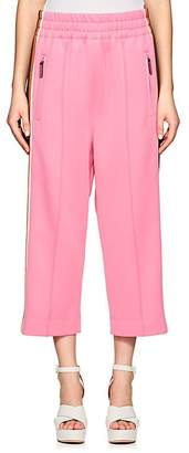 Marc Jacobs Women's Striped Jersey Crop Track Pants