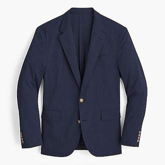 J.Crew Ludlow Classic-fit unstructured suit jacket in stretch cotton