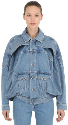 Diesel Shayne Oliver X SHAYNE OLIVER TWISTED TURBO DENIM JACKET