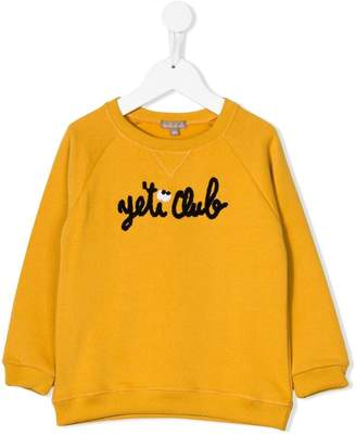 Emile et Ida 'Yeti club' sweater