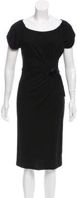 Gucci Short Sleeve Midi Dress