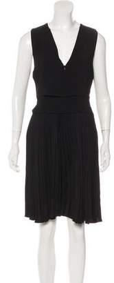 A.L.C. Pleated Knee-Length Dress