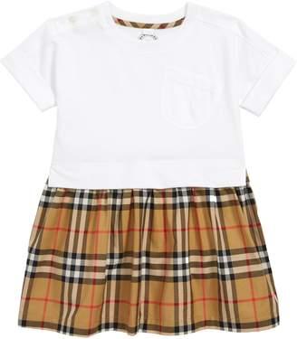 Burberry Ruby Vintage Check Cotton Dress