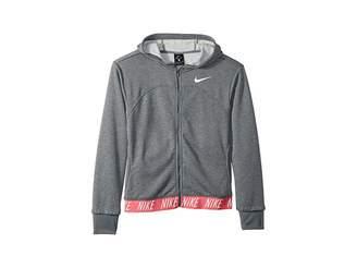 Nike Dry Studio Full Zip Hoodie (Little Kids/Big Kids)