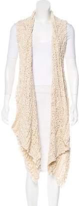 Donna Karan Asymmetrical Knit Vest
