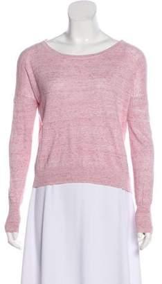 Rag & Bone Long Sleeve Scoop Neck Sweater