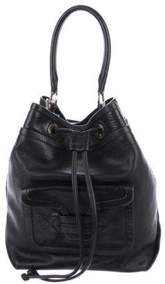 Pierre Hardy Leather Bucket Bag