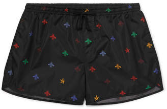 Gucci Short-Length Printed Swim Shorts