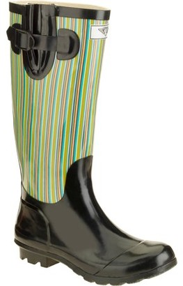 FOREVER YOUNG Forever Young Women's Two Tone Tall Rain Boot