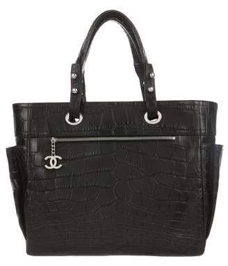 Chanel Crocodile Paris-Biarritz Tote