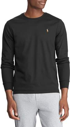 Polo Ralph Lauren Classic-Fit Cotton Interlock Long-Sleeve Tee