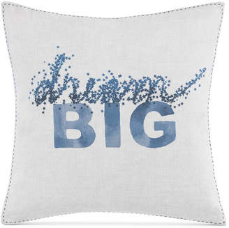 ED Ellen Degeneres Hanako Dream Big Square Decorative Pillow Bedding