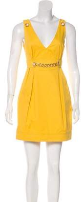 Dolce & Gabbana Sleeveless V-Neck Dress