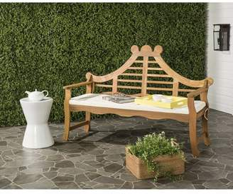 west elm Acacia Wood Decorative Outdoor Bench