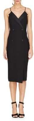 Adelyn Rae Tuxedo Sheath Dress