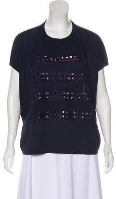 Louis Vuitton Wool Sequin T-Shirt