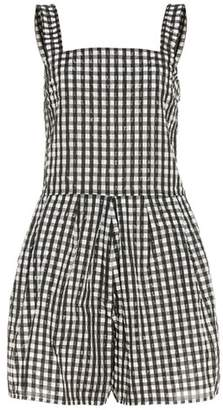 Thomas Laboratories Shrimps checked playsuit
