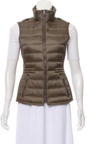 Burberry Brit Quilted Down Vest