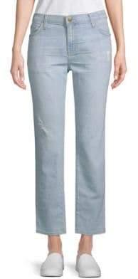 Current/Elliott The Fling Shredded Boyfriend Jeans