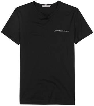 Calvin Klein Jeans Typoko Logo-print Cotton T-shirt