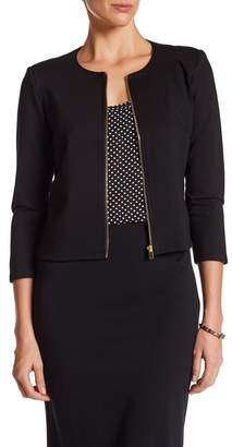 philosophy Ponte Short Jacket $88 thestylecure.com
