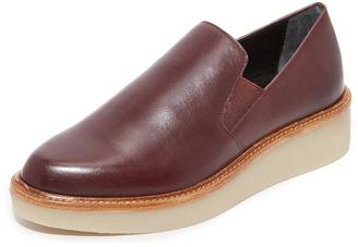 DKNY Kara Platform Loafers $248 thestylecure.com